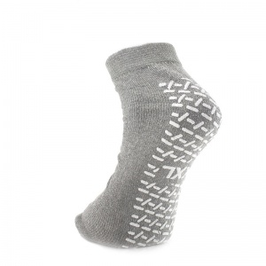 Medline Single Tread XX LARGEGREY Slipper Socks Five Pairs  Sports Supports  Mobility
